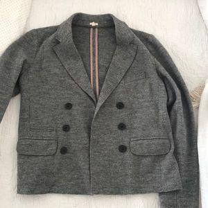 JCrew 100% wool blazer. Size 8 tall. EUC